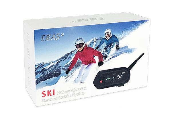 滑雪头盔蓝牙对讲机SKI10